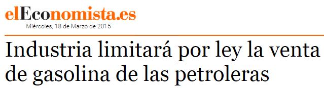industria_ley_limitar_venta_gasolina_petroleras